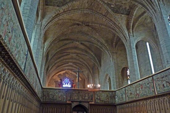 Abbaye de La Chaise-Dieu - intérieur