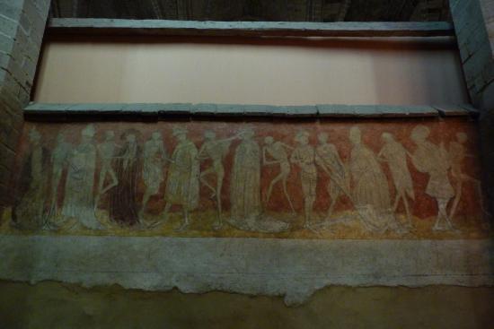 Abbaye de La Chaise-Dieu - la danse macabre