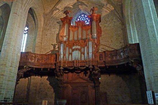 Abbaye de La Chaise-Dieu - orgue