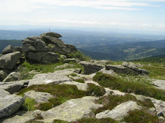 Monts du Forez Pierre sur haute